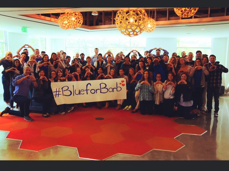 Cydcor Volunteers Wear Blue to Support the Fight Against Colon Cancer