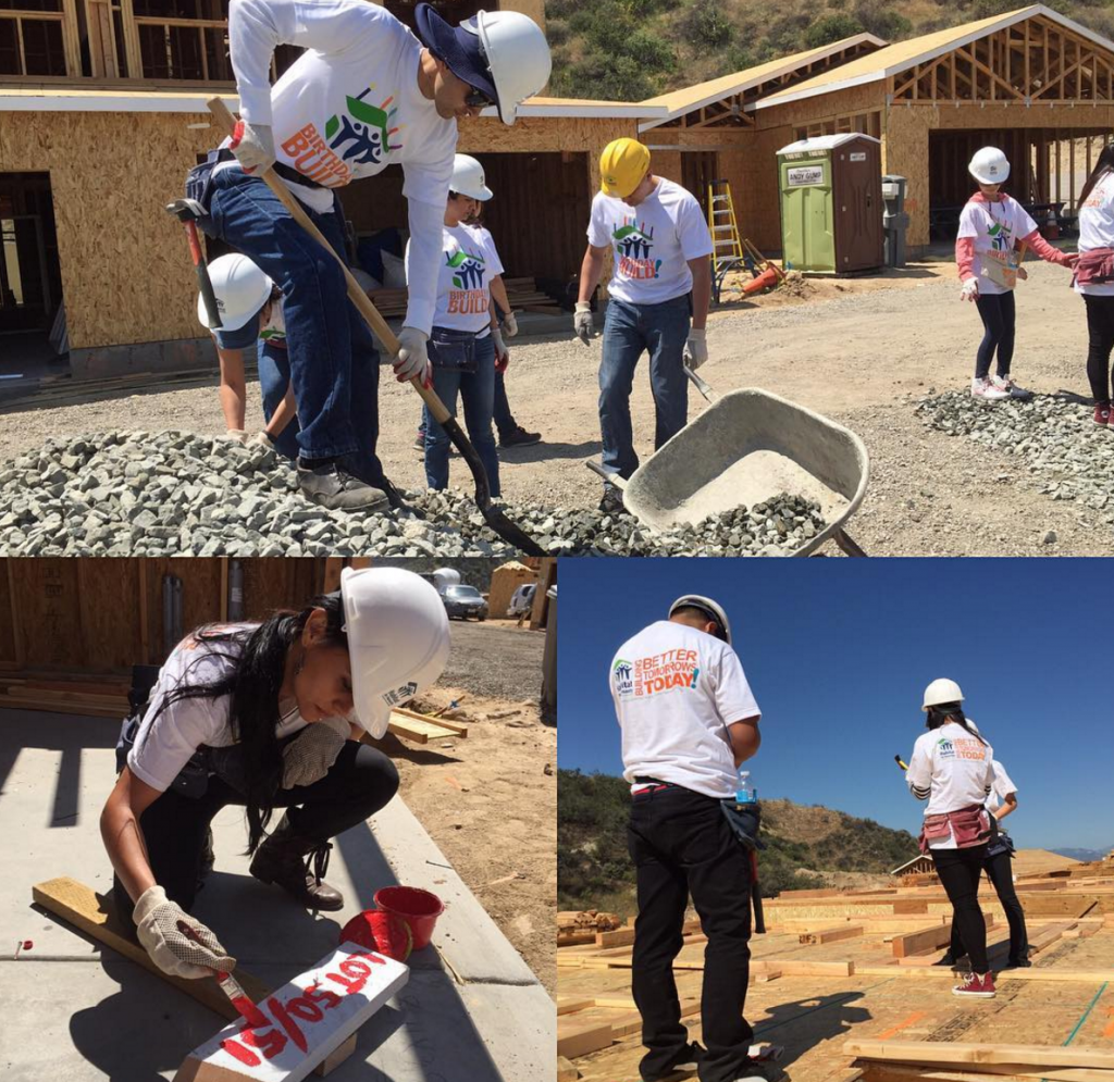 Cydcor Volunteers Support Habitat for Humanity and the LA Food Bank