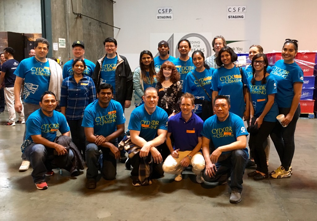 Cydcor Volunteers Support Habitat for Humanity and the LA Food Bank 4