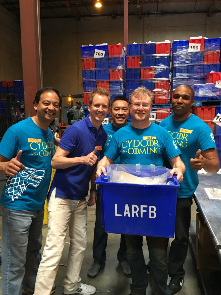 Cydcor Volunteers Support Habitat for Humanity and the LA Food Bank 6
