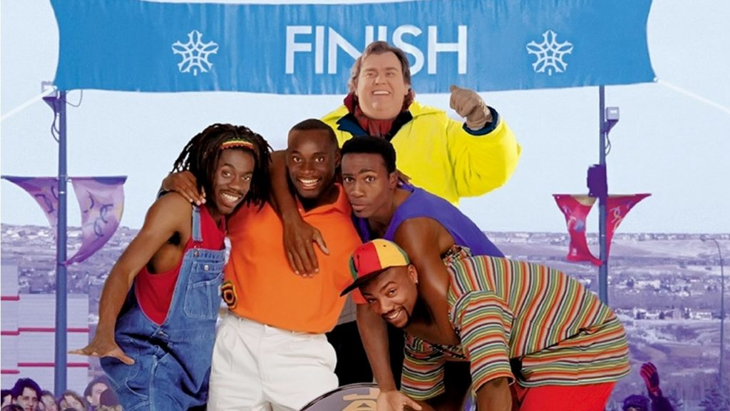 The cast of Cool Runnings
