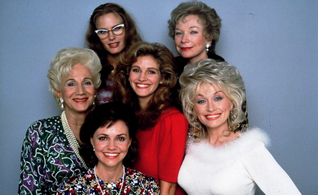 The cast of Steel Magnolias.