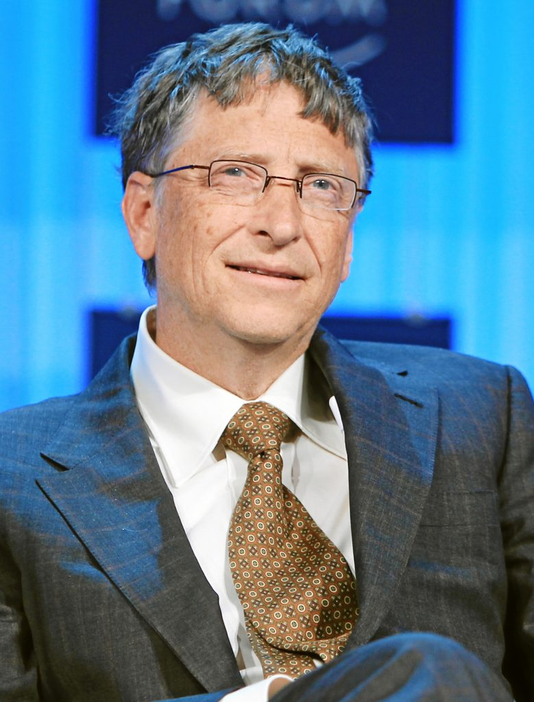 Bill Gates Portrait