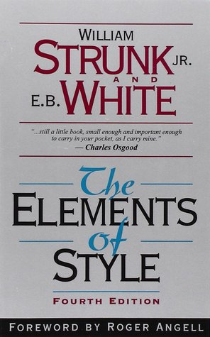 Book cover art the elements of style one of the top five books for managers