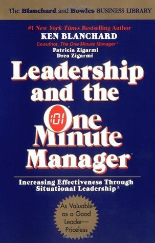 Leadership and the One Minute Manager Book Cover