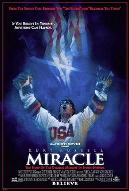 Movie poster for Miracle, 2004.