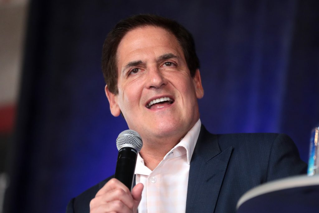 Mark Cuban, entrepreneur who also stars in Shark Tank, worked as a salesman before finding success.