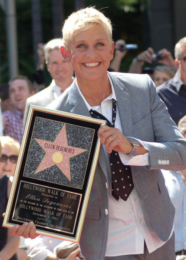 Famous comedian Ellen Degeneres had a work history in sales before becoming a successful comedian.