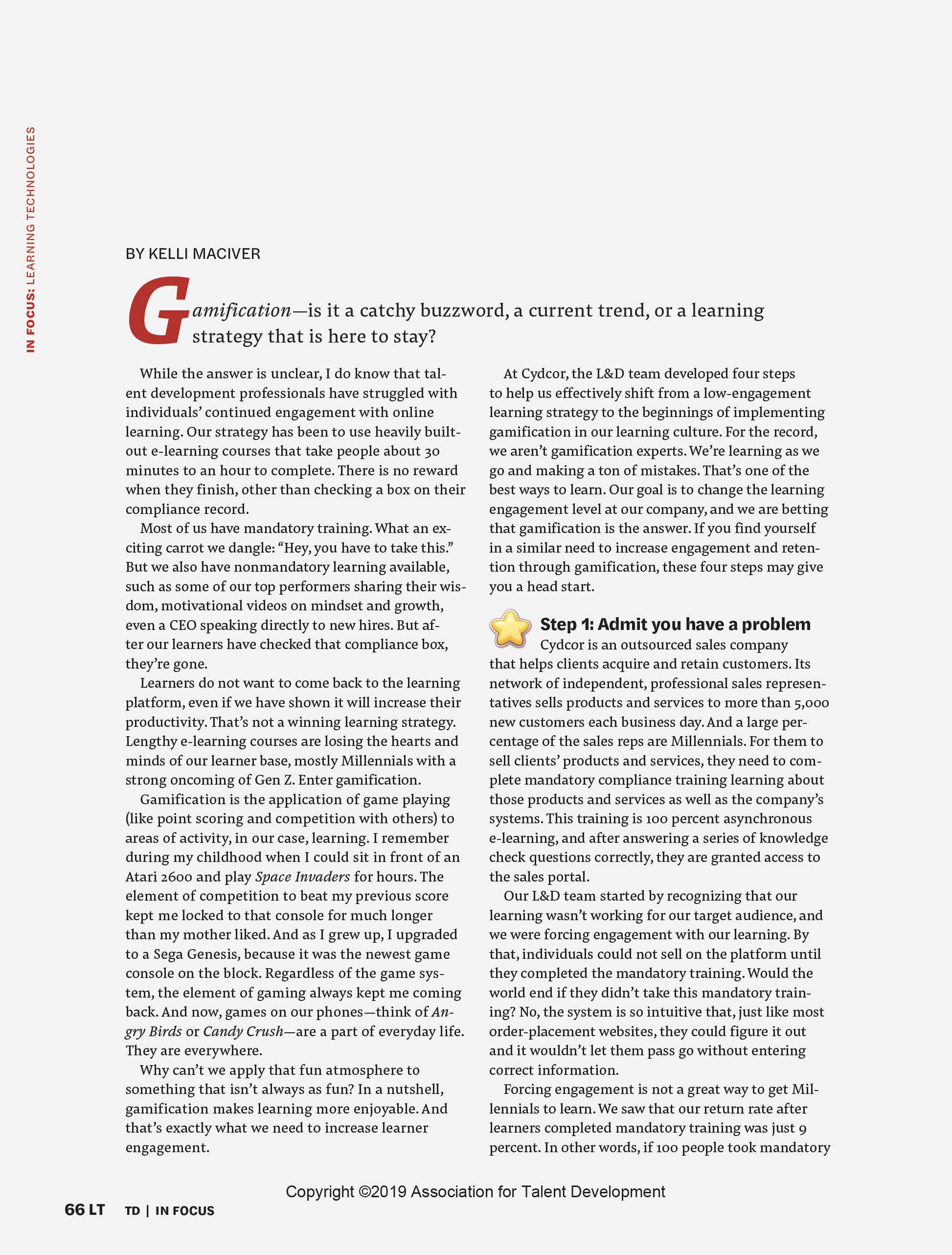 How Gamification Boosts Employee Engagement in Corporate Training Page 2