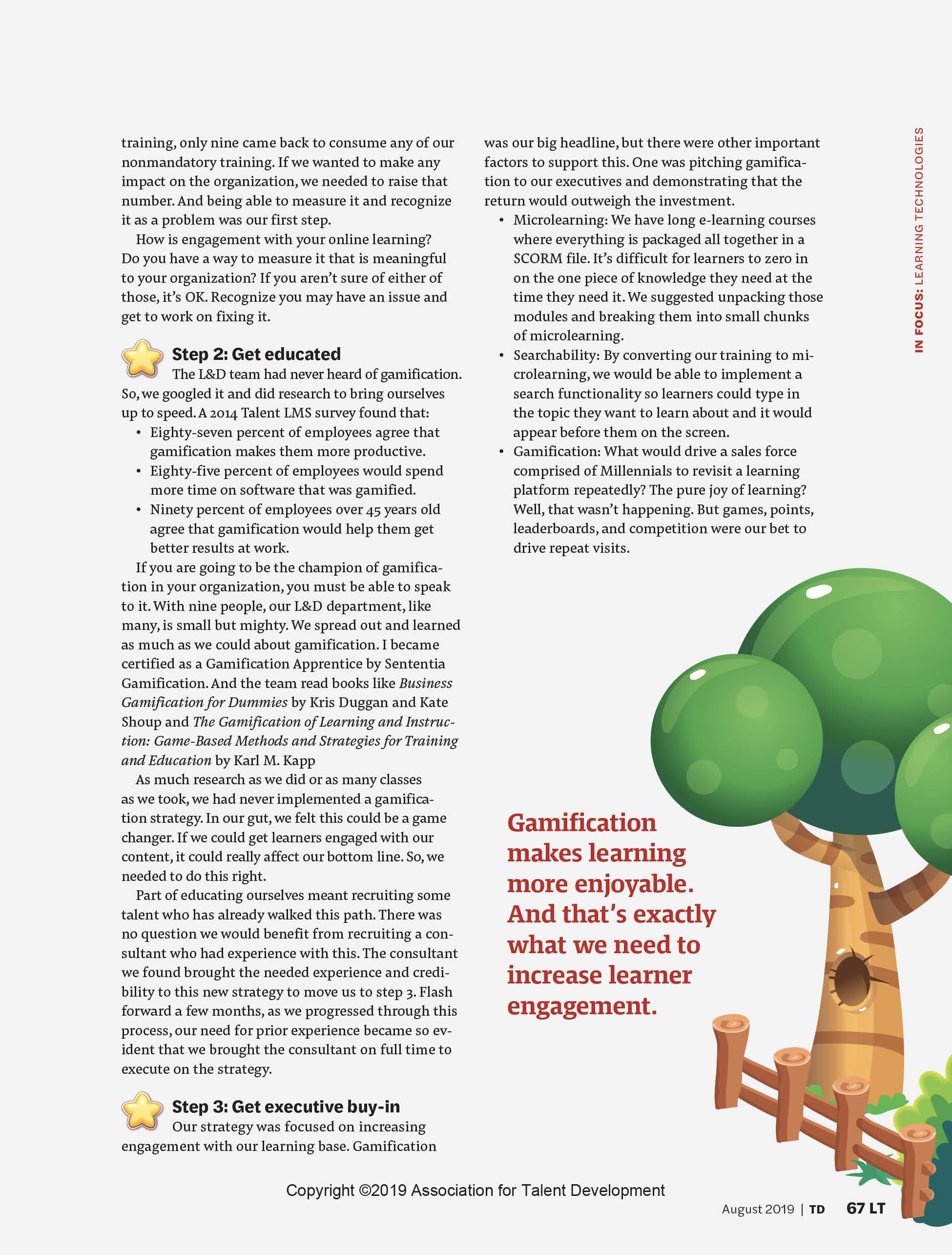 How Gamification Boosts Employee Engagement in Corporate Training Page 3
