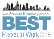 Los Angeles Business Journal - Best Places to Work 2018