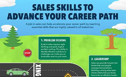 Sales Skills to Help Advance Your Career Path