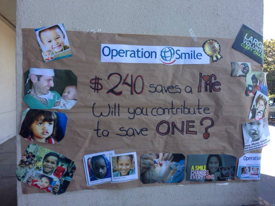 Cydcor operation smile fundraising